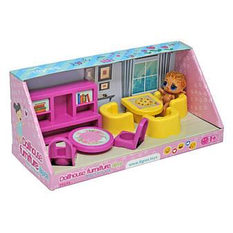 Набор мебели для кукол (гостиная) 8 эл. 39696, фото 2