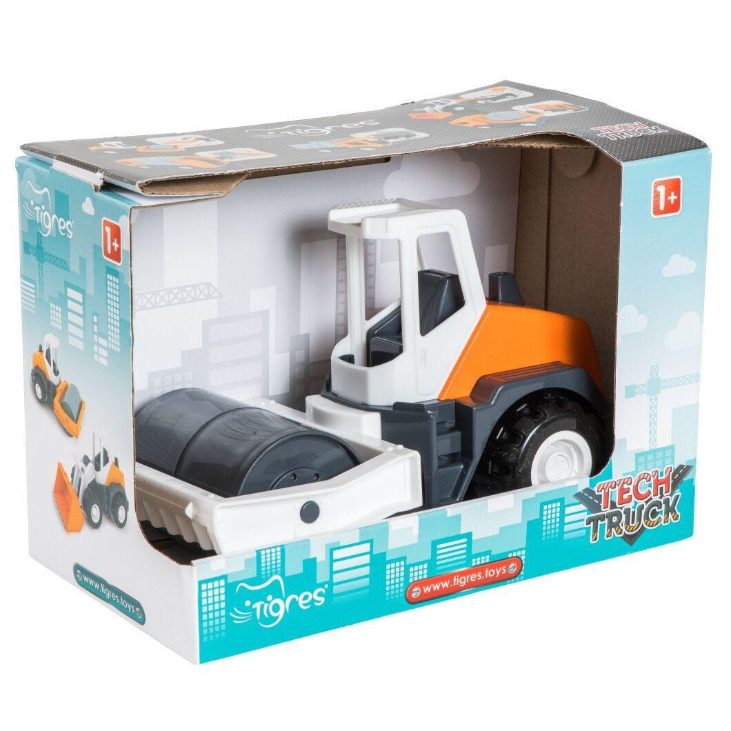 "Авто ""Tech Truck"" в коробке 2 модели 39478-1 Каток"