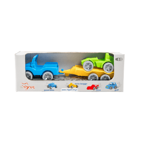 """Набор авто """"Kid cars Sport"""" 3 эл. (Джип + багги) 39544, фото 2"""