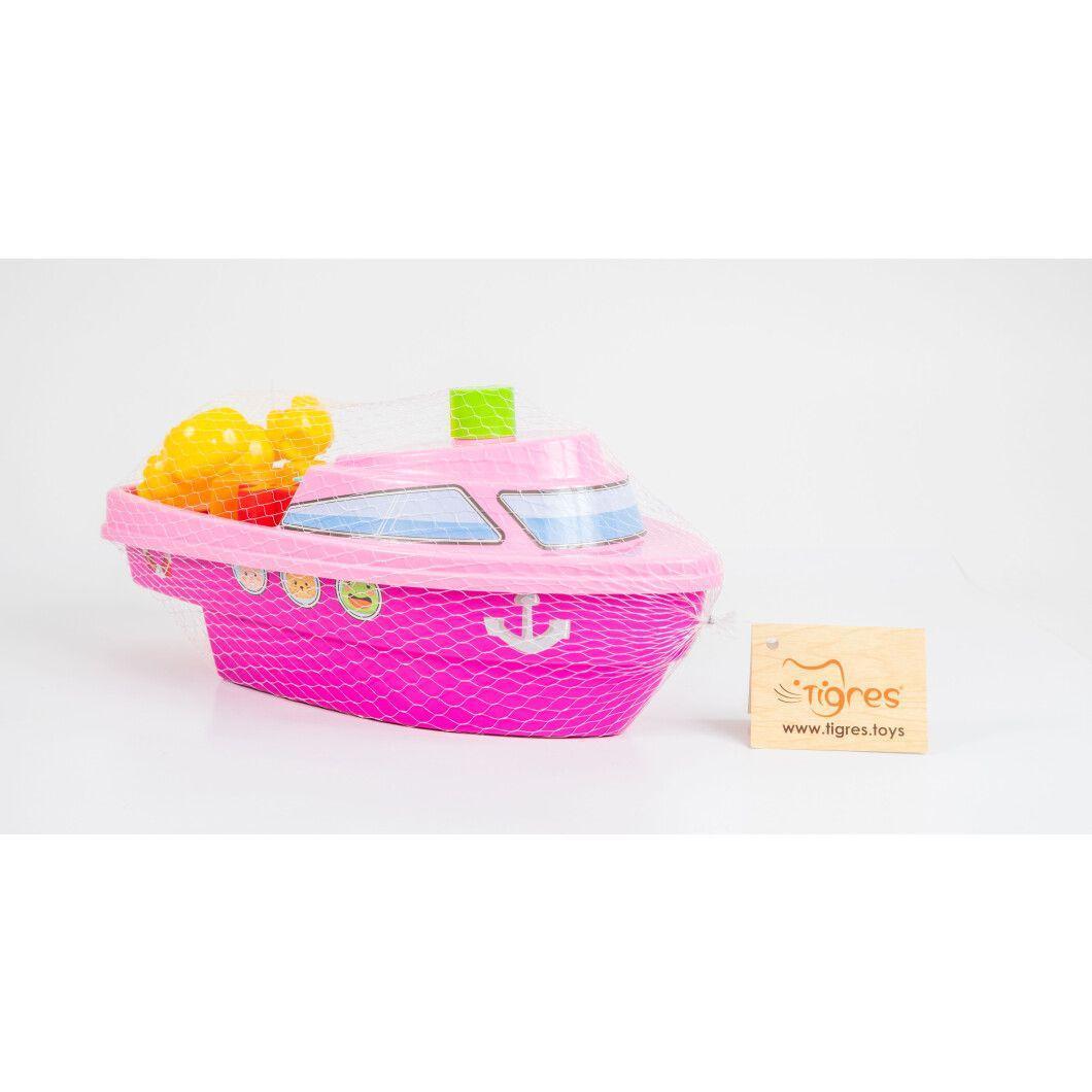 """Игрушка развивающая """"Кораблик"""" 39379(Pink) Розовый"""