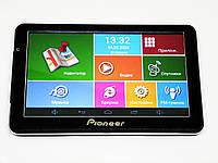 7'' Планшет-навигатор Pioneer D711 - GPS+ 4 Ядра+ 8Gb+ Android