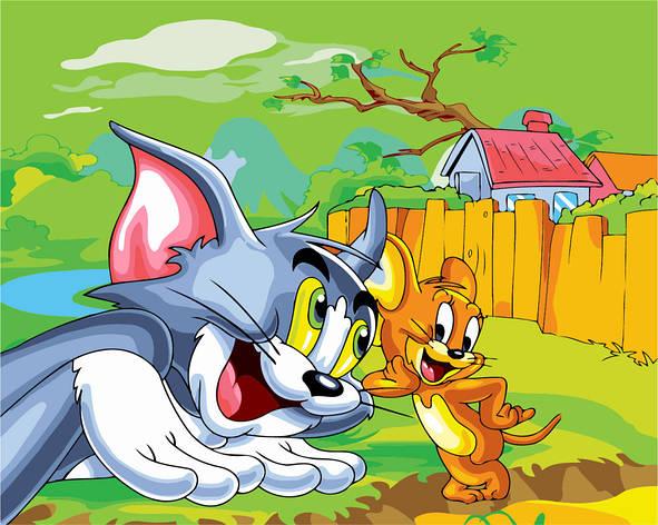 "Картина по номерам. Brushme ""Том и Джерри"" GX6239, фото 2"