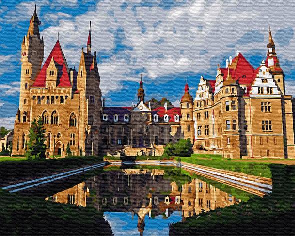"Картина по номерам. Brushme ""Мошненский замок в Польше"" GX33175, фото 2"