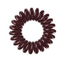 Резинки для волос 3шт коричневые