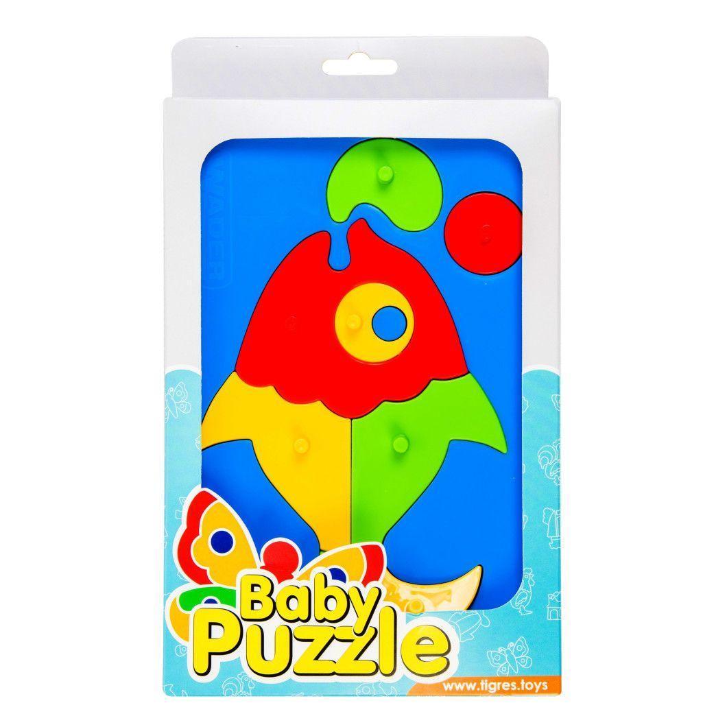 """Игрушка развивающая """"Baby puzzles"""" 39340-2 Рыбка"""