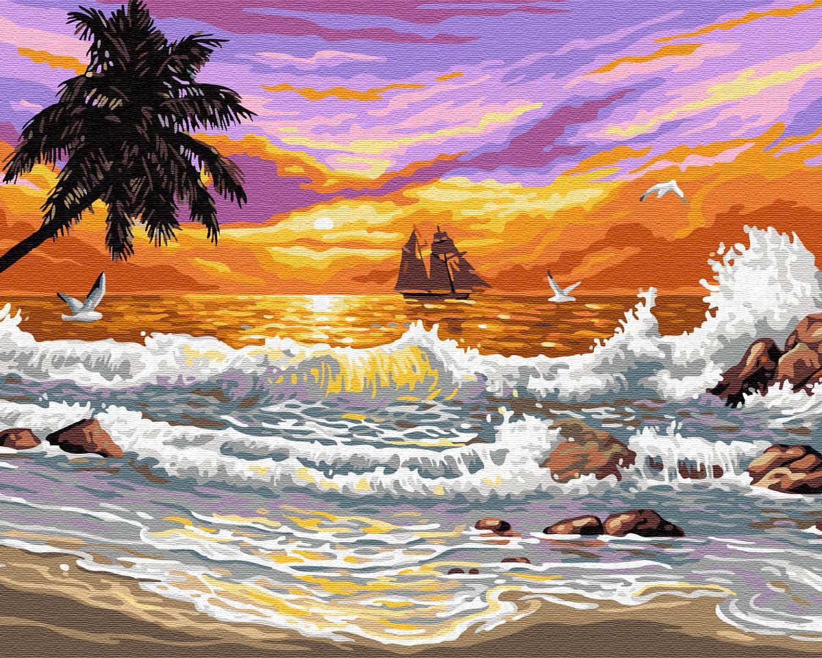 "Картина по номерам. Brushme ""Сказочное Бали"" GX6699"