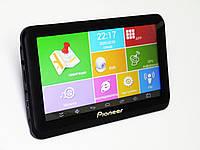 7'' Планшет-навигатор-видеорегистратор Pioneer A7002S+ GPS+ 4Ядра+ 512MbRam+ 8Gb+ Android