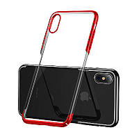 Акция! Чехол Baseus для iPhone XS Glitter , Red (WIAPIPH58-DW09) [Скидка 5%, при условии 100% предоплаты!]