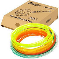 Набор нити 1.75мм PLA XYZprinting для ручки 3D (6 цветов) (RFPLDXTW00H)