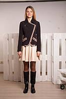 Куртка демисезонная из кашемира для девочек от 13 до 17 лет