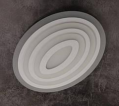 Люстра потолочная LED с пультом 2231/500*380 Белый 6х50х38 см., фото 3