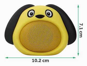 Колонка MB-M818(Yellow) Собачка, фото 2