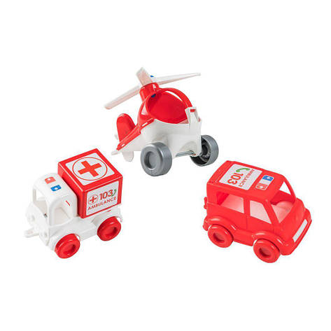 """Набор авто """"Kid cars"""" скорая 39549, фото 2"""