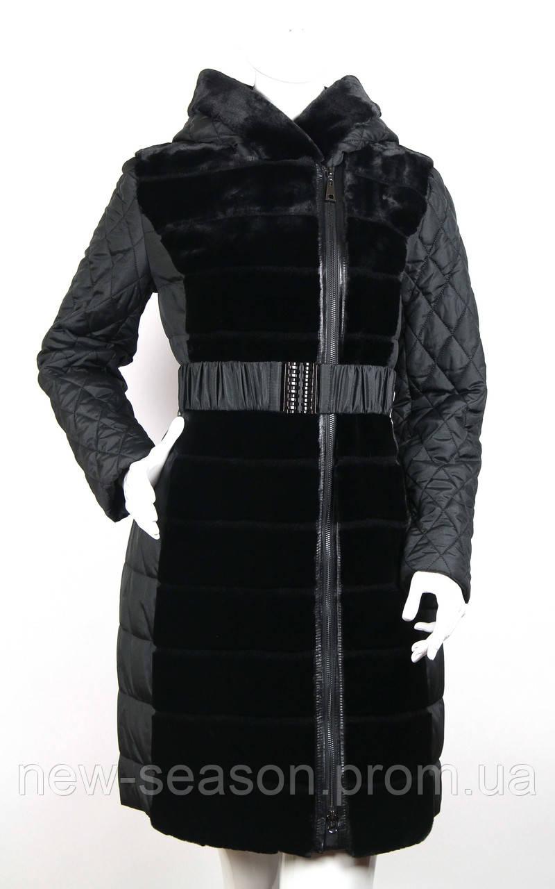 Пальто (куртка) из искусственного меха Esocco J15001