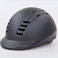Шлем для верховой езды (PC, M-L (55-61), черный) PZ-MS06