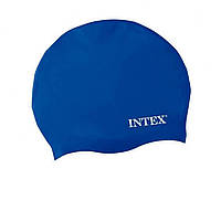 Шапочка для плавания Intex 55991(Blue) Синий