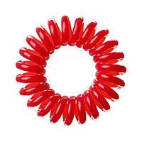 Резинки для волос 3шт красная