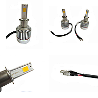 Led лампы для авто светодиодные UKC Car Led Headlight H3 33W 3000LM 4500-5000K