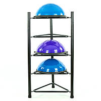 Подставка (стойка) для 5 балансировочных платформ Zelart (металл, 75х66х150см)уп.2ящ PZ-TA-8219