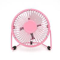 USB настольный вентилятор Pink, фото 1