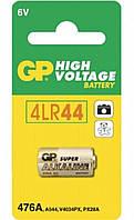 Батарейка 6v GP 4LR44,476A,A544,PX28A,V4034PX