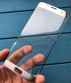 Стекло дисплея для Samsung G935 Galaxy S7 EDGE серебристое