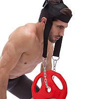 Упряжь для тренировки мышц шеи (нейлон, металл)