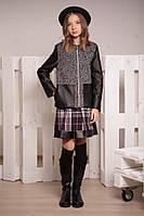 Полупальто - пиджак для девочек от 9 лет до 17
