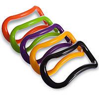 Кольцо для йоги YOGA PILATES RING (PP, 23х12см) PZ-FI-0762