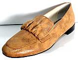 Туфли женские на низком каблуке от производителя модель КЛ2002, фото 5