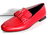 Туфли женские на низком каблуке от производителя модель КЛ2002, фото 2
