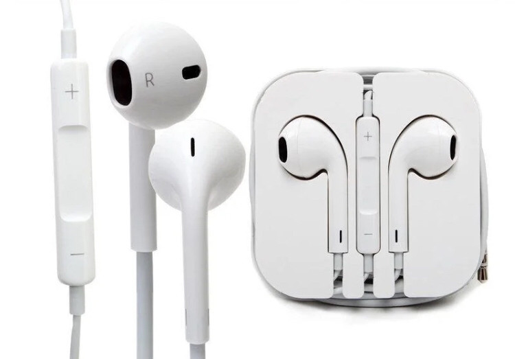 Наушники Apple EarPods with Mic (реплика)