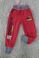 Утепленные спортивные брюки с начесом 4- 6 лет