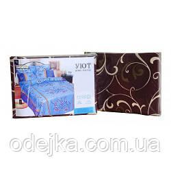 Комплект постільної білизни Затишок поліестер двоспальний 180х215 (210627-1)