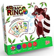 Детское развивающее Лото Bingo Ringo (рус/англ), Danko Toys (GBR-01-01E)