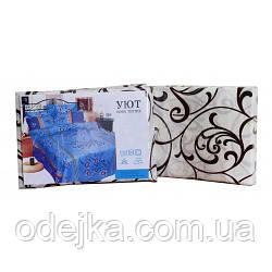 Комплект постільної білизни Затишок поліестер двоспальний 180х215 (210627-2)