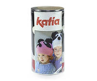 Набор для вязания Katia Kid's шапка панда красная №94