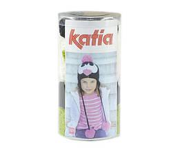 Набор для вязания Katia Kid's шапка пингвин зеленый №103