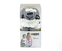 Набор для вязания Yonca Fancy Art шарф овечка серая