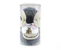 Набор для вязания Purple Yarns шапка обезьяна серая