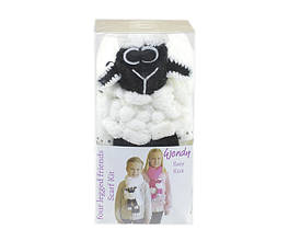 Набор для вязания Wendi шарф овечка белый