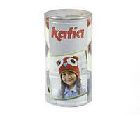 Набор для вязания Katia Kid's шапка сова серая №73