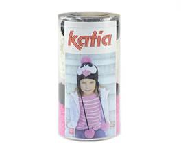 Набор для вязания Katia Kid's шапка пингвин розовая №101