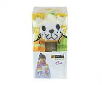 Набор для вязания Yonca Fancy Art шарф кошка секционное крашение TR45Ndv06YFA