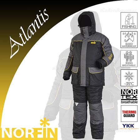 Мужской зимний костюм до -35С Norfin AtlantiS, фото 2