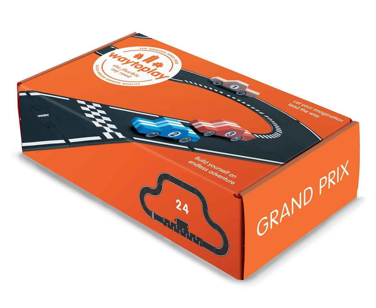 Гибкая автомобильная трасса Grand Prix (24 дорожных частей, длина 384 см) WAYTOPLAY
