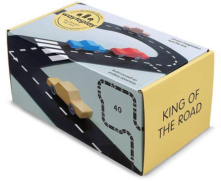 Гибкая автомобильная трасса Королевская дорога (40 дорожных частей, длина 648 см) WAYTOPLAY, фото 2