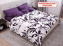 Євро комплект постільної білизни - Фіолетові сни, компанія