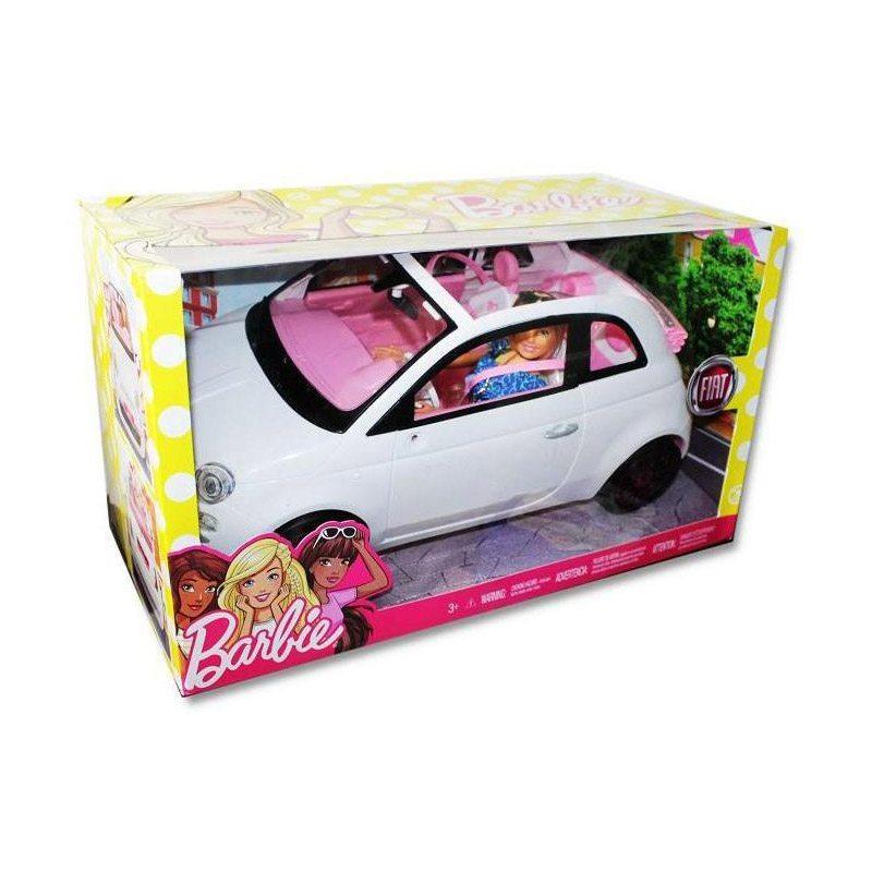 Игровой набор кукла Барби с Машиной Fiat Mattel FVR07