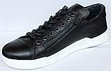 Туфлі шкіряні чоловічі на шнурках від виробника модель ТР16, фото 2